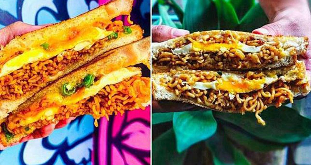 Roti Panggang Mie Goreng Populer di Australia, Dijamin Bikin Lo Ngiler!