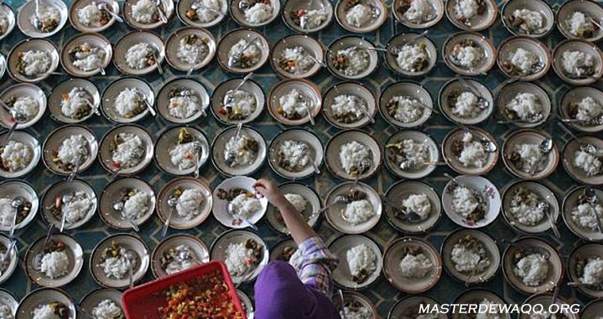 Kisah Ibu-Ibu Bikin 3.000 Porsi Menu Buka Puasa di Masjid Jogokariyan
